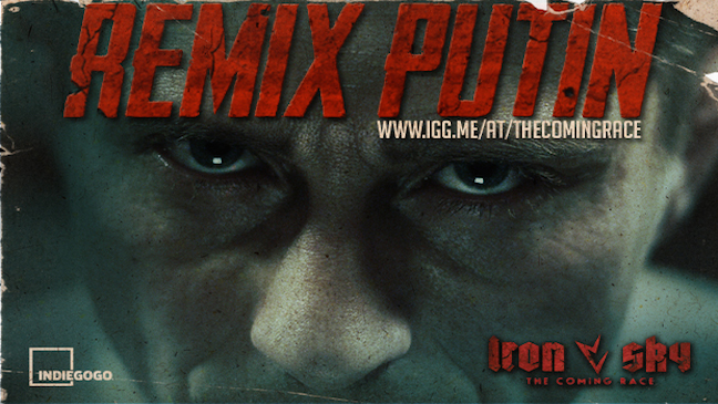Vladimir Putin in 'Iron Sky The Coming Race'