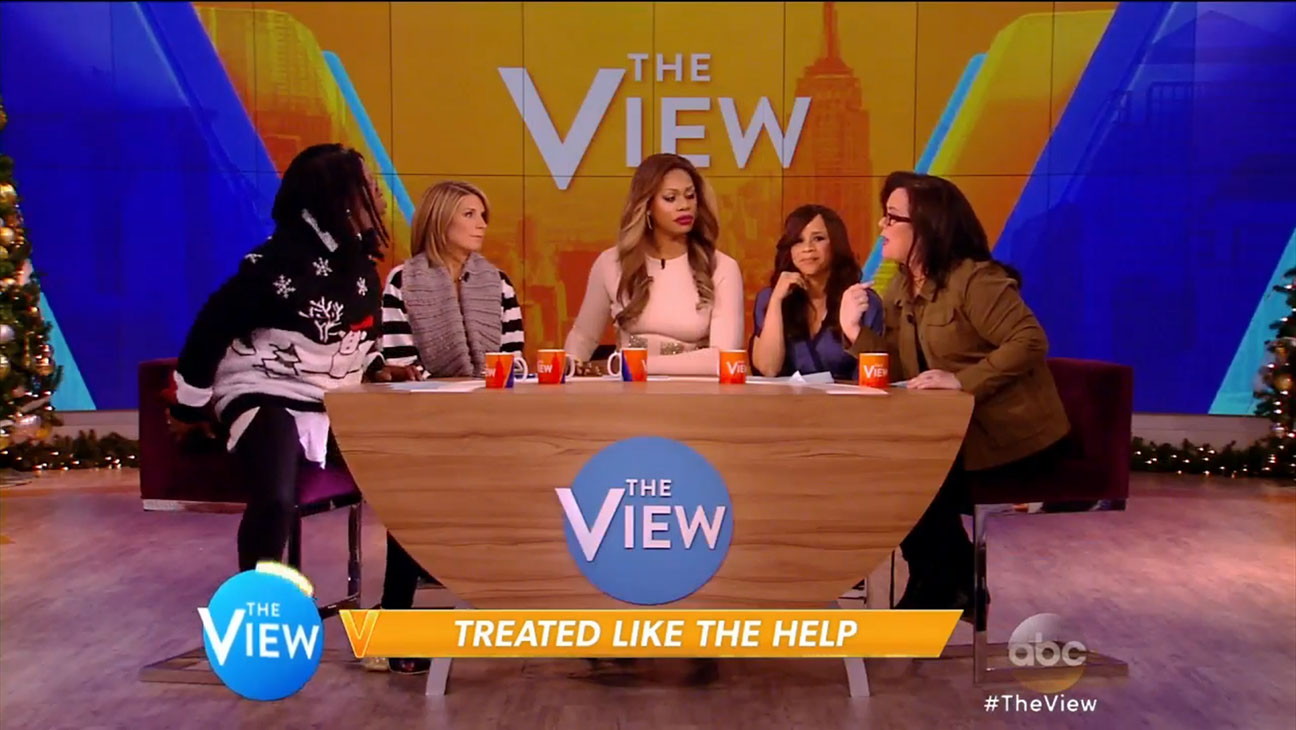 Racism Talk the View Still - H 2014