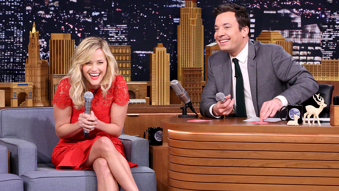 Reese Witherspoon Jimmy Fallon Tonight Show - H 2014