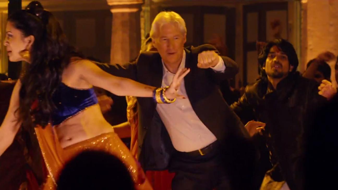 Richard Gere Second Best Exotic Marigold Hotel H 2014
