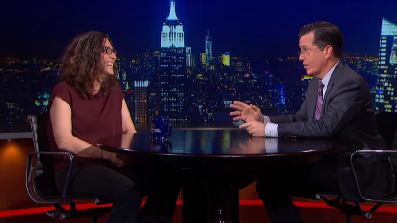 Sarah Koenig on Stephen Colbert - H 2014