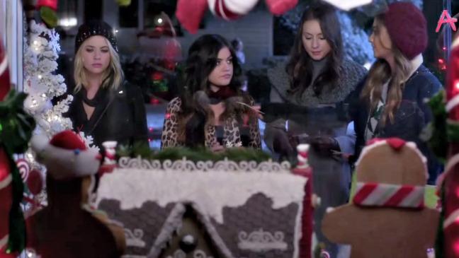Pretty Little Liars Christmas Still - H 2014