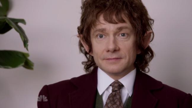 SNL Hobbit Office Still - H 2014