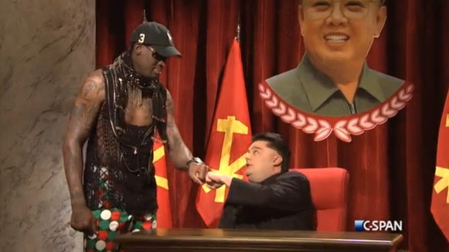 Dennis Rodman SNL Cold Open Still - H 2014