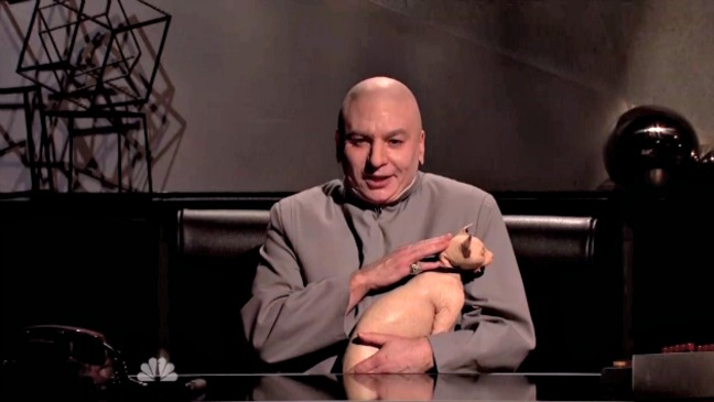 SNL Dr. Evil Cold Open Still - H 2014