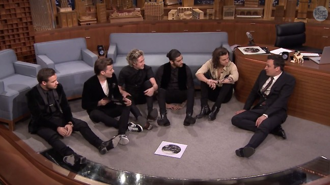One Direction Tonight Show Still - H 2014