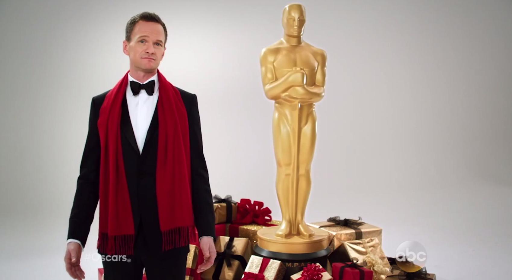 Neil Patrick Harris Oscar Promo Still - H 2014