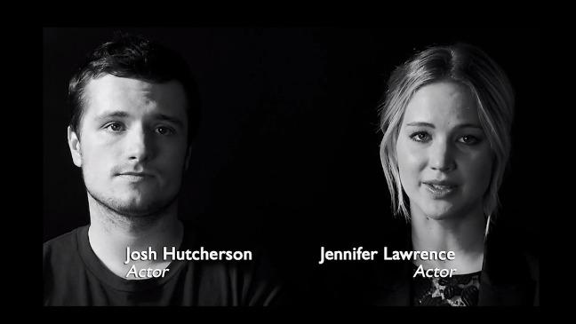 Jennifer Lawrence Ebola PSA Still - H 2014
