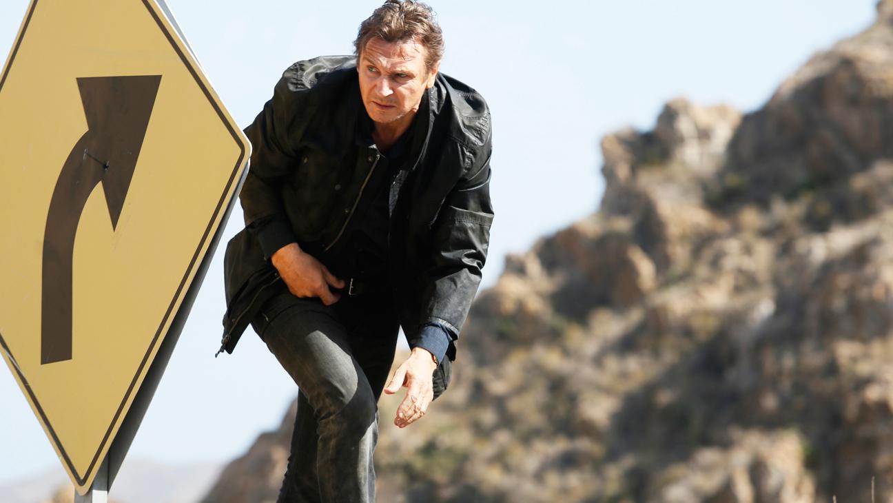 Taken 3 Liam Neeson Running - H 2014