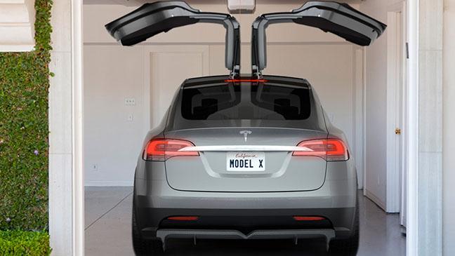 Tesla Model X - H 2014