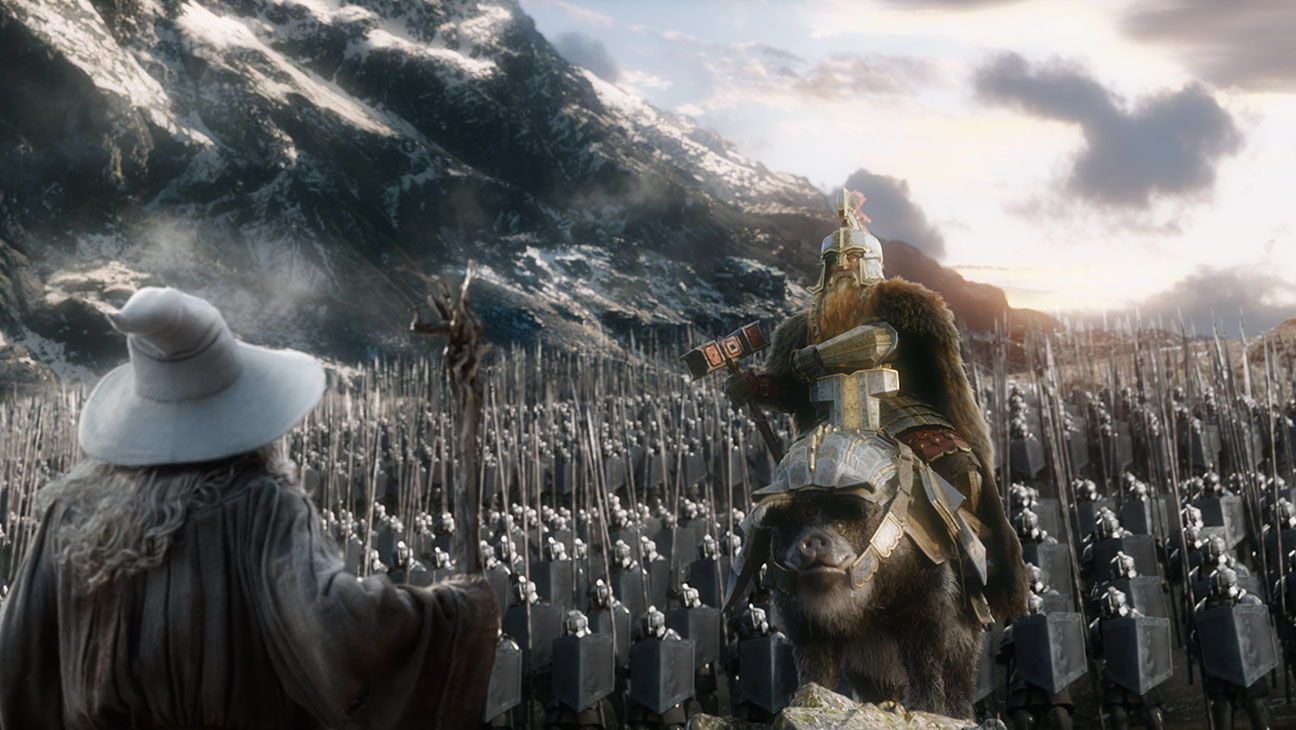 The Hobbit: The Battle of Five Armies Still 3 - H 2014