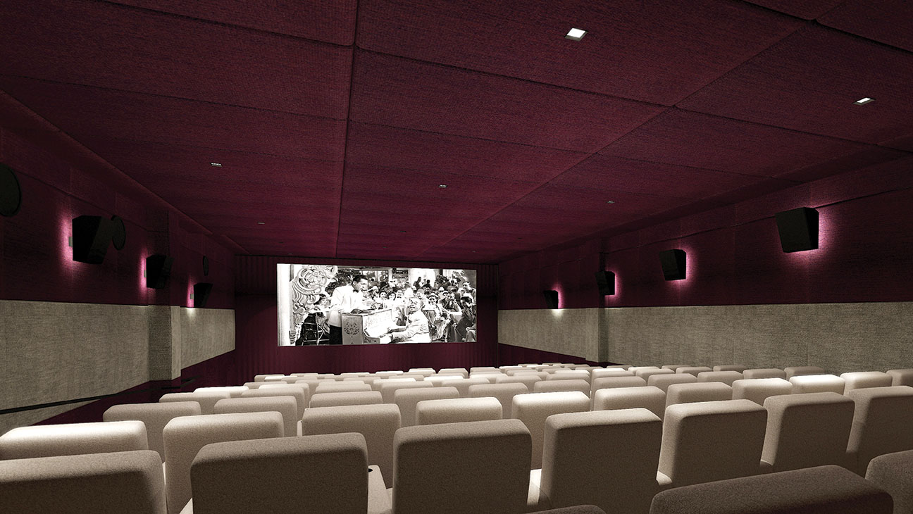 The London West Hollywood Screening Room - H 2014