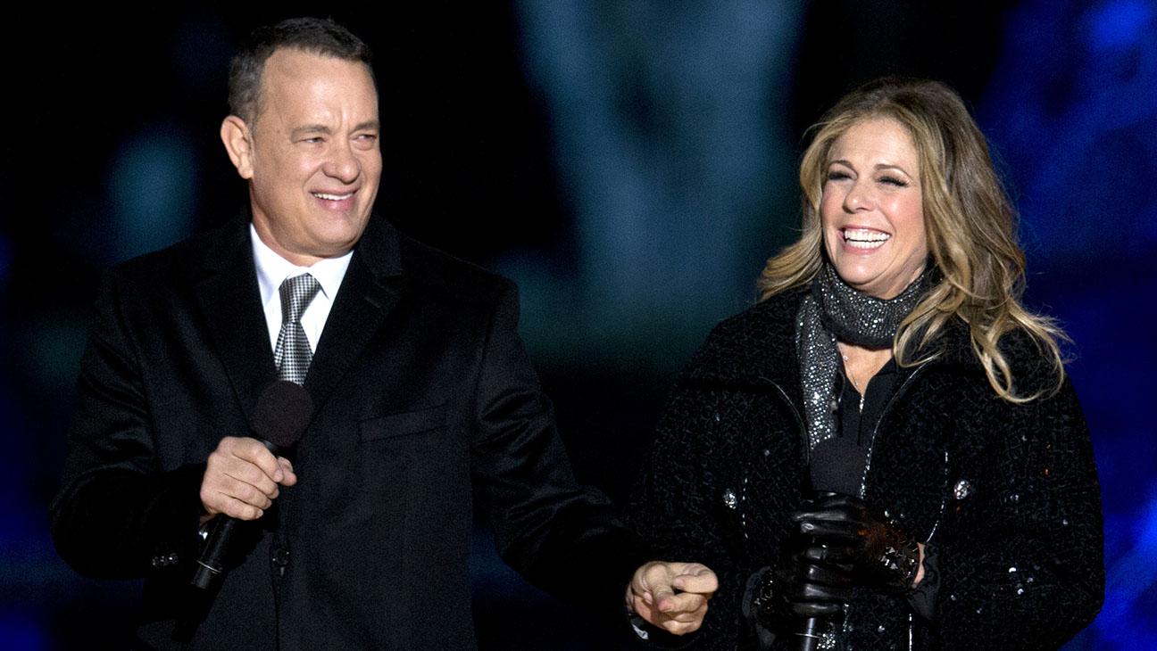 Tom Hanks Rita Wilson - H 2014