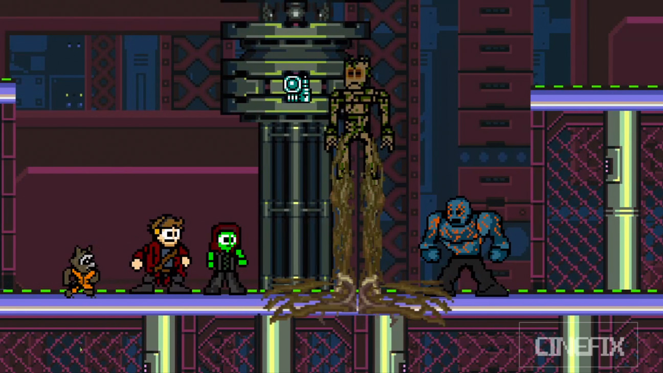 8 Bit Guardians of the Galaxy - H 2014