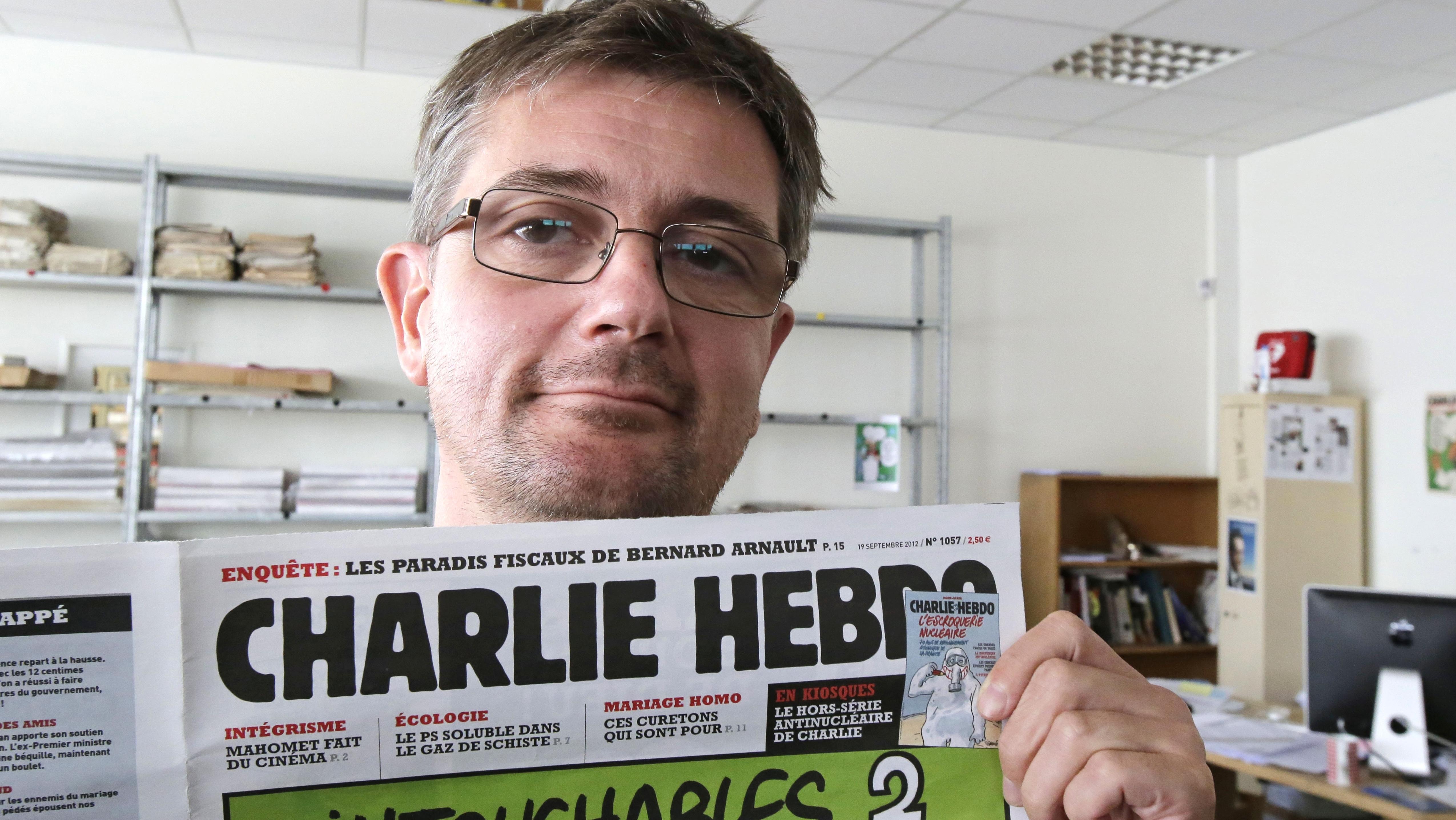 Stephane Charbonnier Hebdo Cover - H 2015