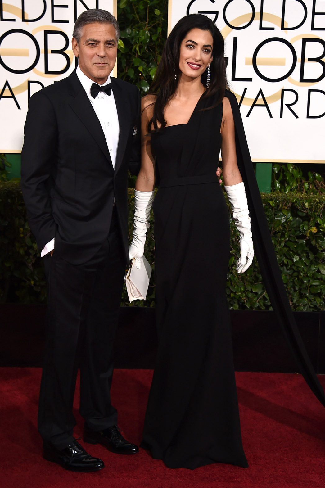 George Clooney Wears Wedding Tux To The Golden Globes Hollywood Reporter