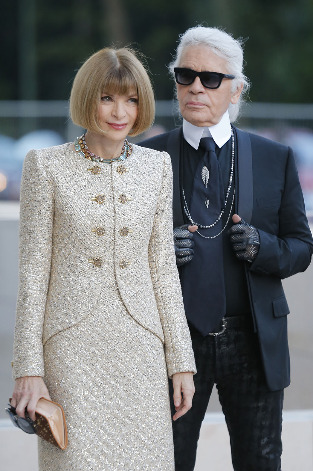 anna wintour and karl lagerfeld - P 2015