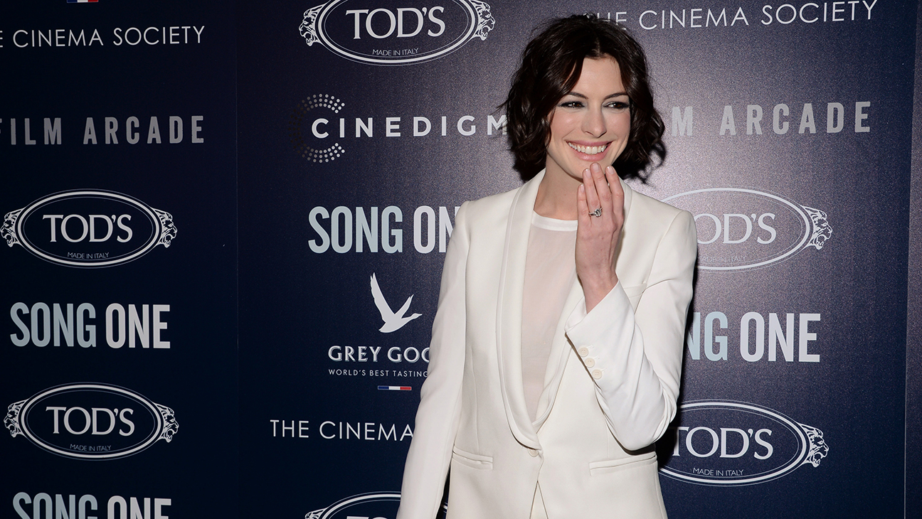 Anne Hathaway Song One Premiere H 2014