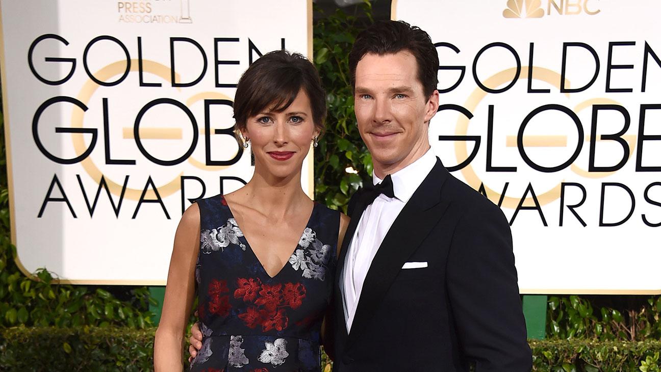 benedict cumberbatch and sophie hunter Golden Globes - H 2015