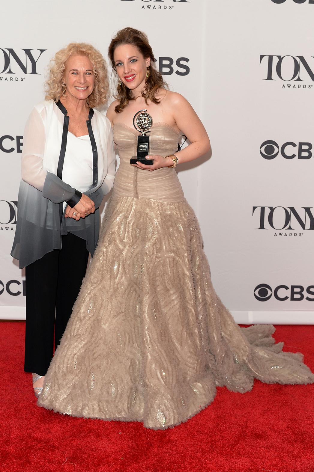 Carole King Jessie Mueller Tony Awards P