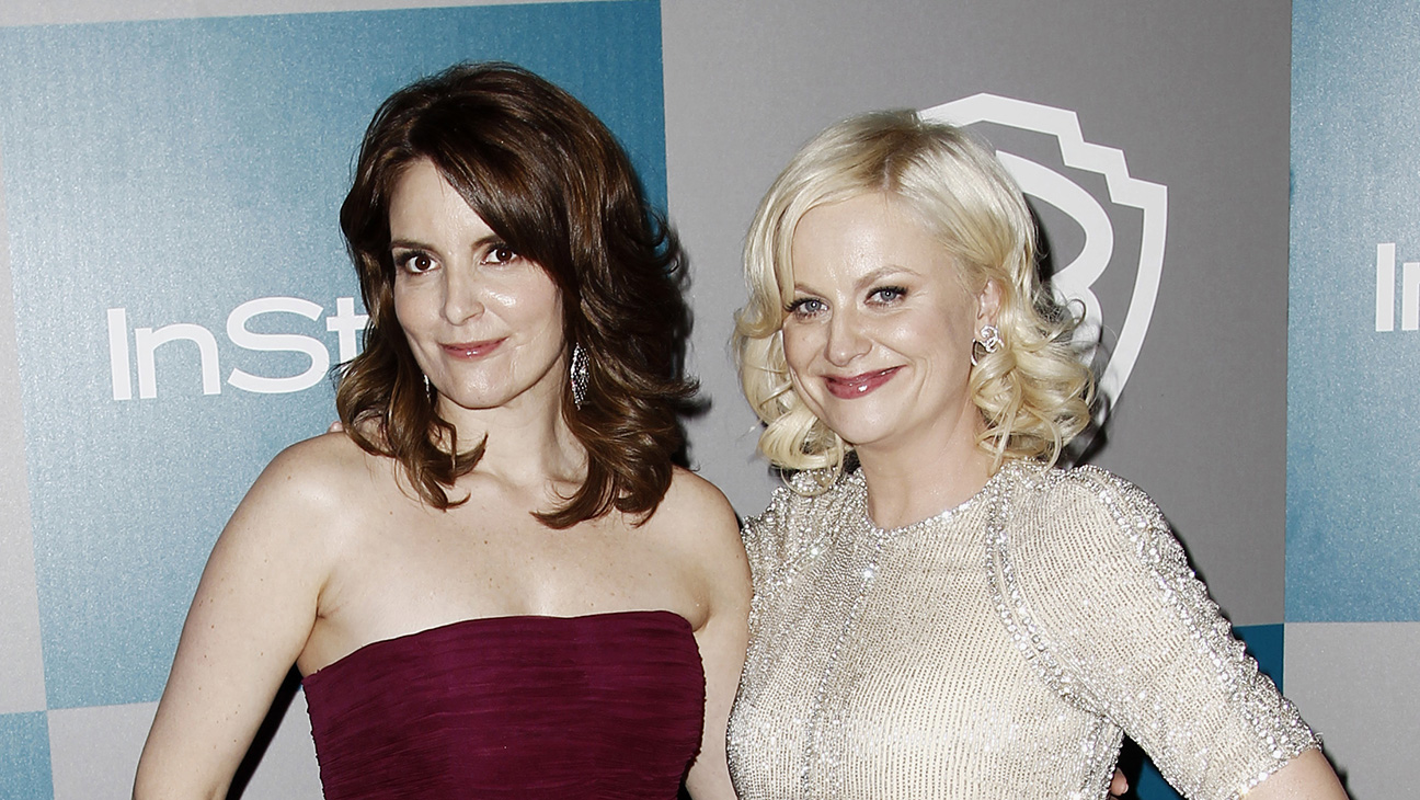 Tina Fey and Amy Poehler Golden Globes 2014 party - H 2015