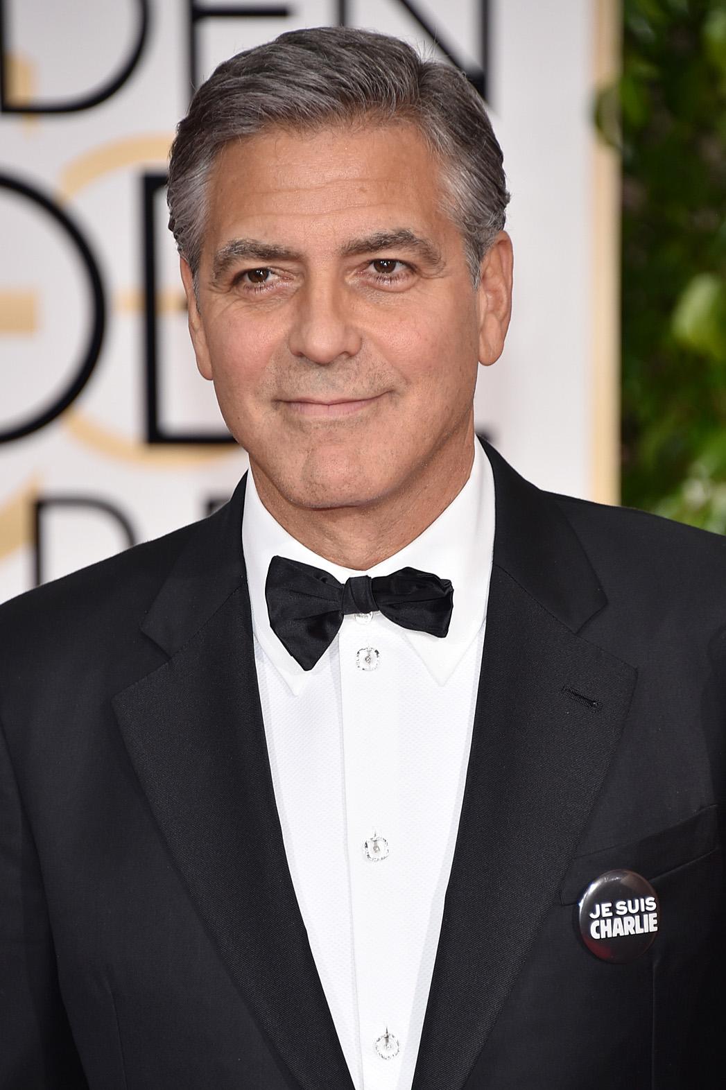 George Clooney Je Suis Charlie - P 2014