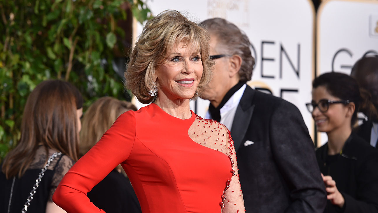 Jane Fonda Golden Globes - H 2015