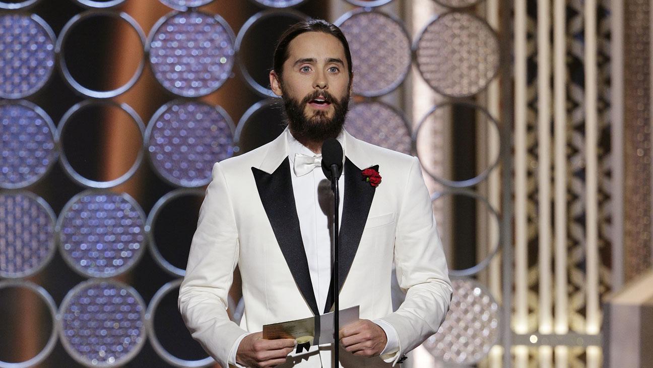 Jared Leto Onstage Golden Globes - H 2015
