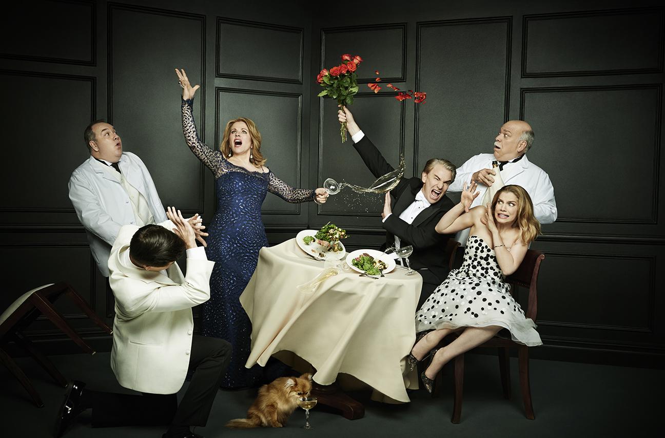 Living On Love Cast H 2015