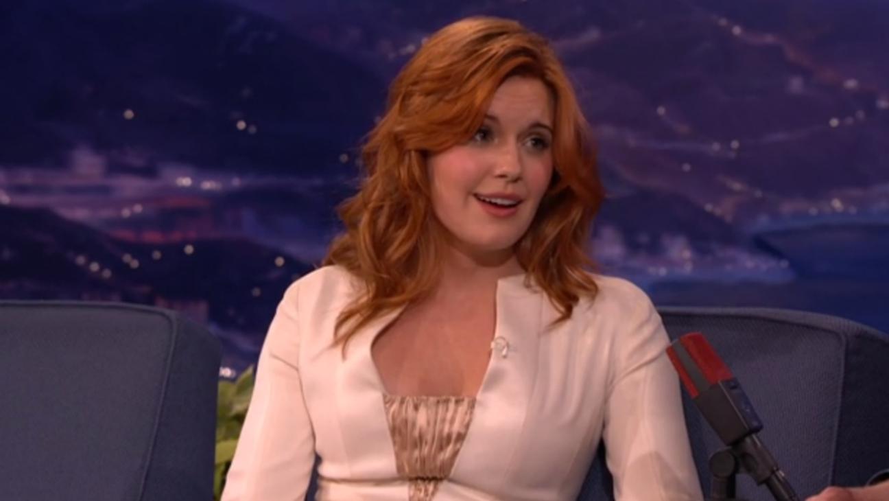 Maggie Grace on Conan - H 2015