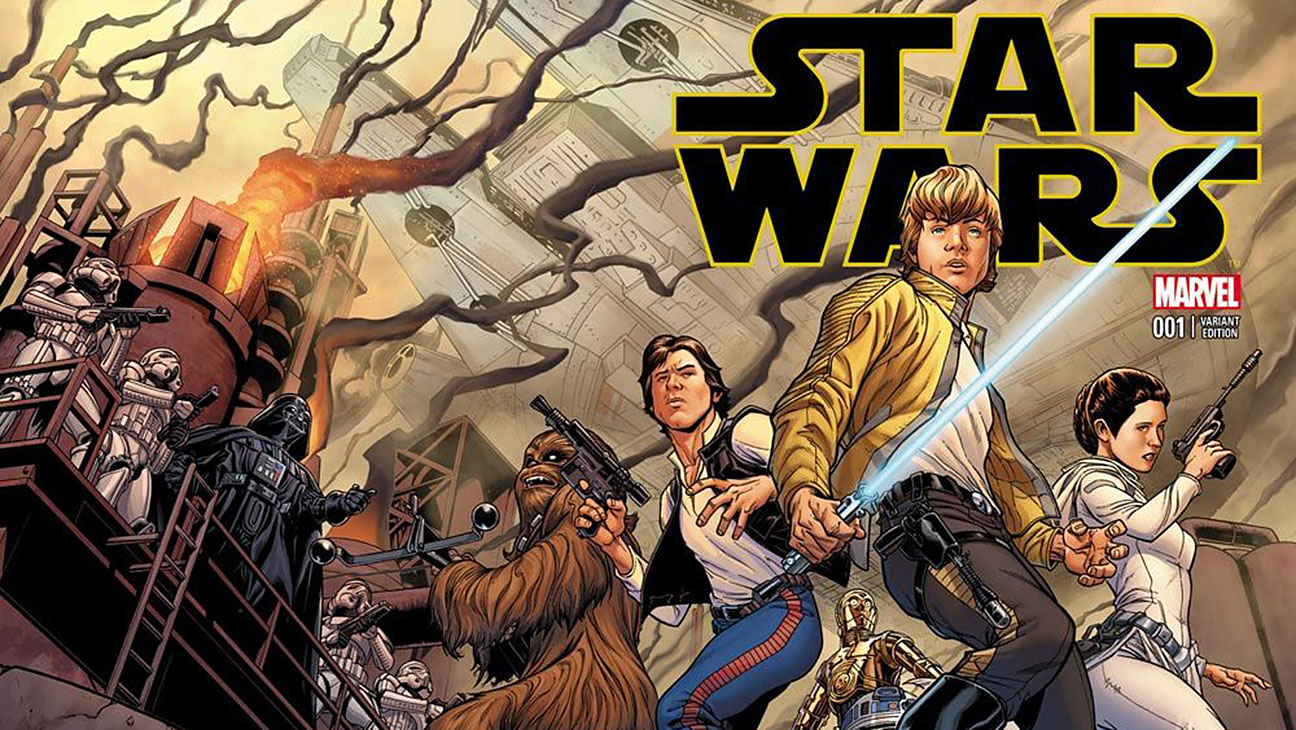 Marvel star wars variant Cover - H 2015