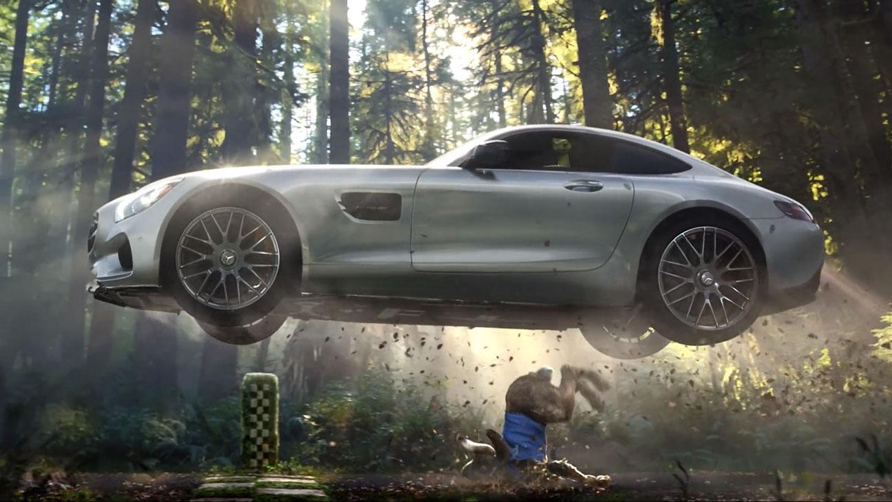 Mercedes Fable Super Bowl Ad Still - H 2015