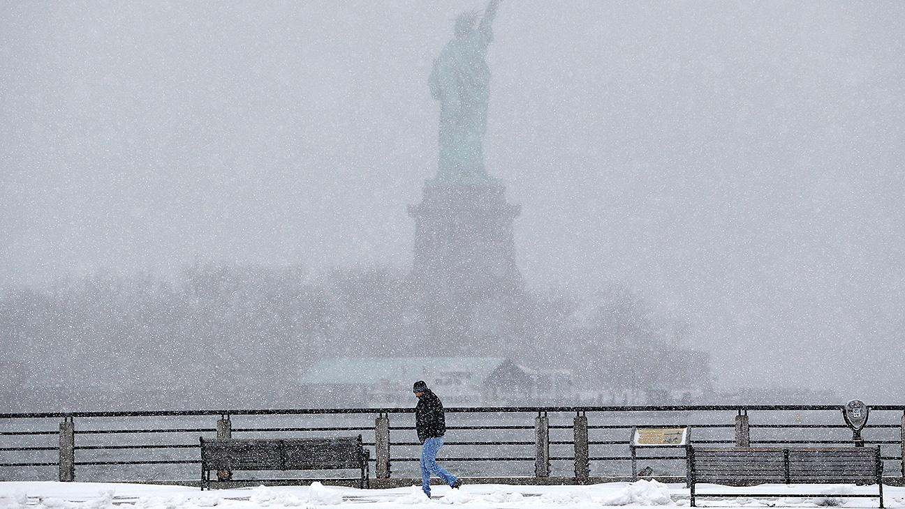 New York City Snow - H 2015