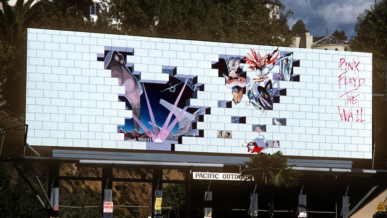 Pink Floyd The Wall Billboard - H 2015