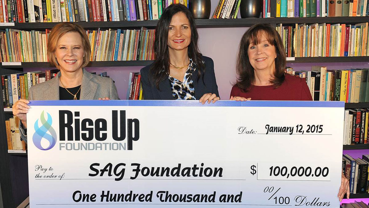 Rise Up Foundation SAG Foundation - H 2015