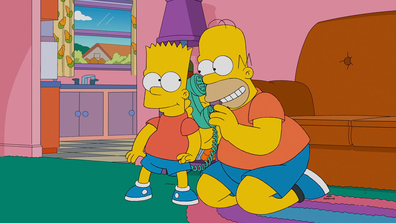 Simpsons Apatow Episode - H 2014
