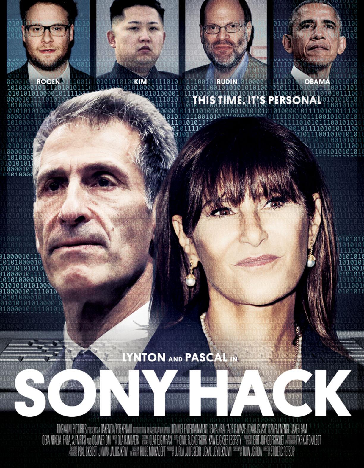 Sony Hack Poster Illo - P 2015