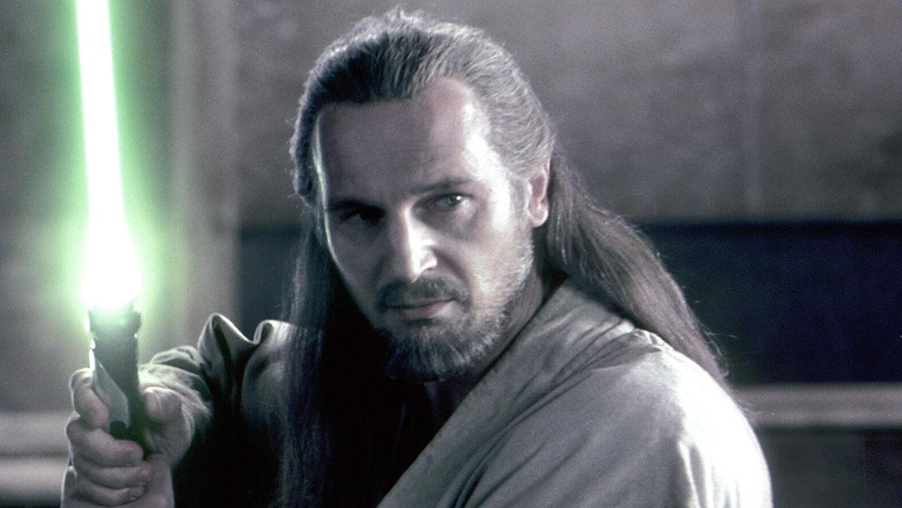 Star Wars Episode 1 Liam Neeson Still - H 2015