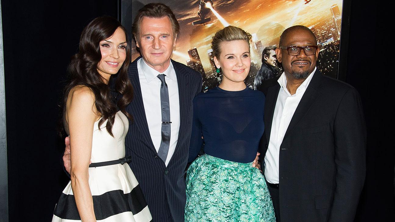 Liam Neeson Taken 3 Team Talk Making Kidnap Sequel Where Nobody Is Taken Hollywood Reporter