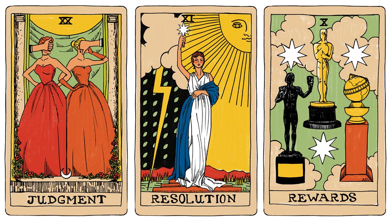 Tarot Cards Illo - H 2015