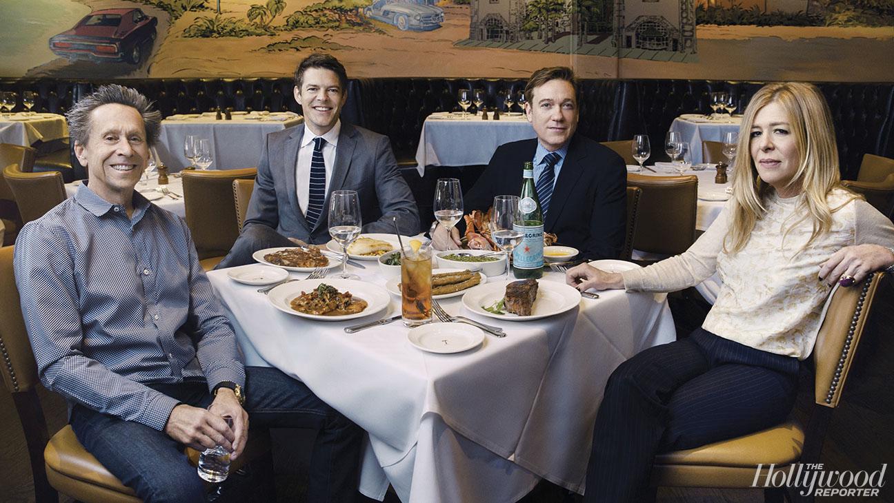 THR Power Lunch Group Shot - H 2015