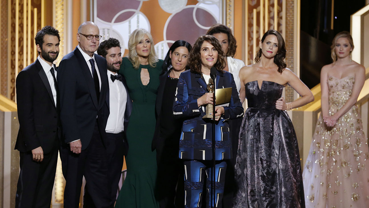 Transparent Cast Onstage Golden Globes - H 2015