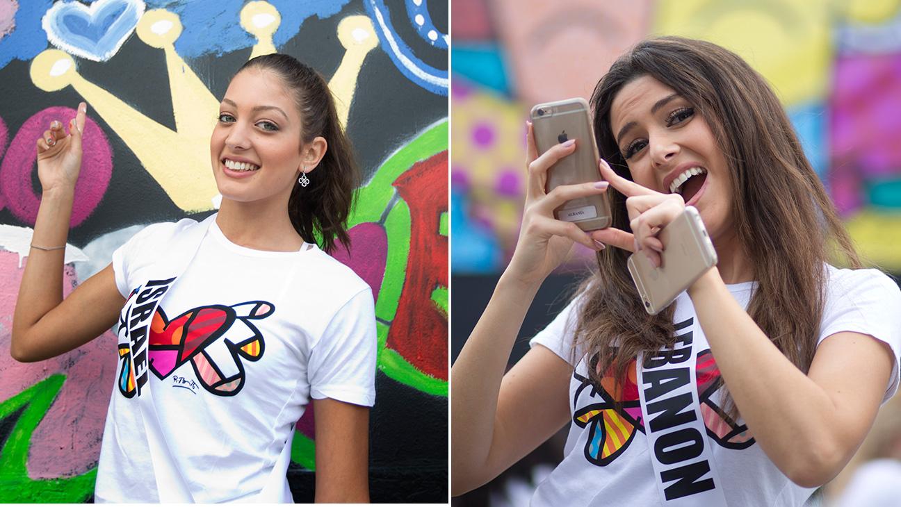 Miss Lebanon Miss Israel Split - H 2014