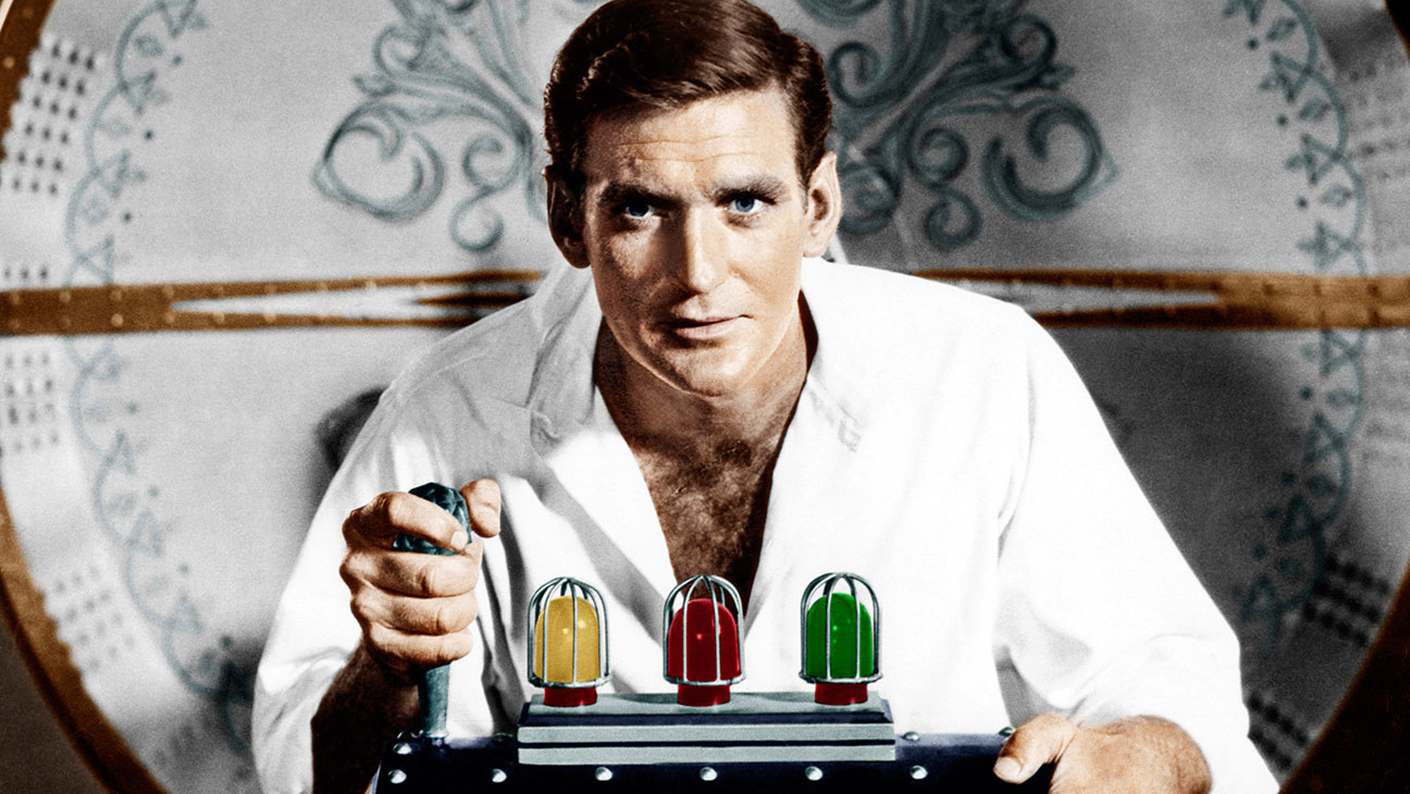 Rod Taylor in The Time Machine - H 2015