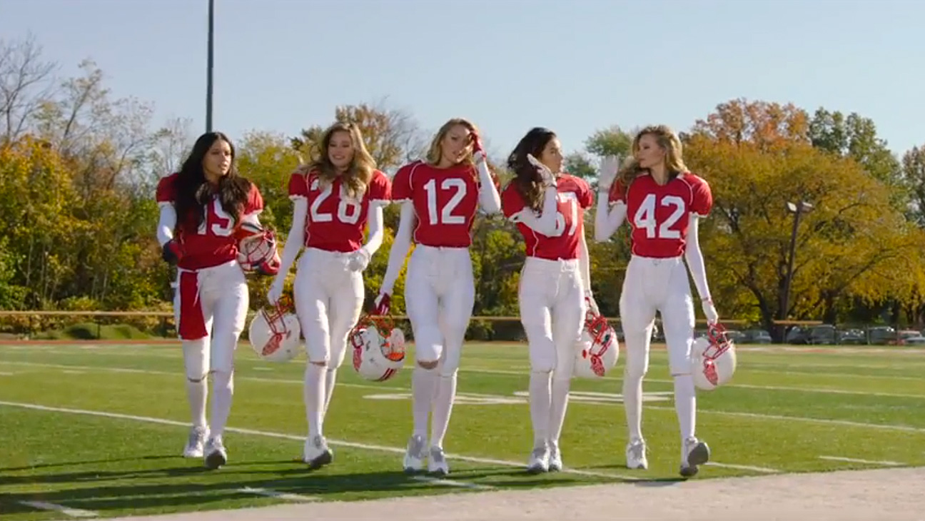 Victoria's Secret Football Ad - H 2015