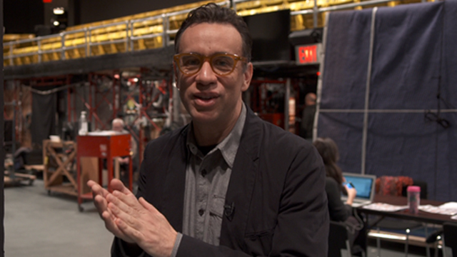 Fred Armisen Goes Behind the Scenes at 'SNL' at 40 | Hot Set!