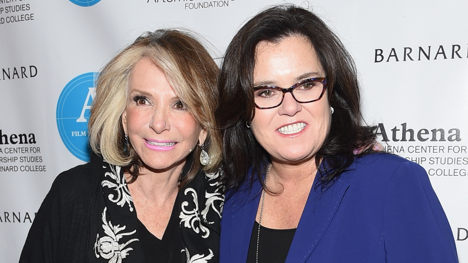 Rosie O'Donnell and Sheila Nevins at the Athena Film Festival - H 2015