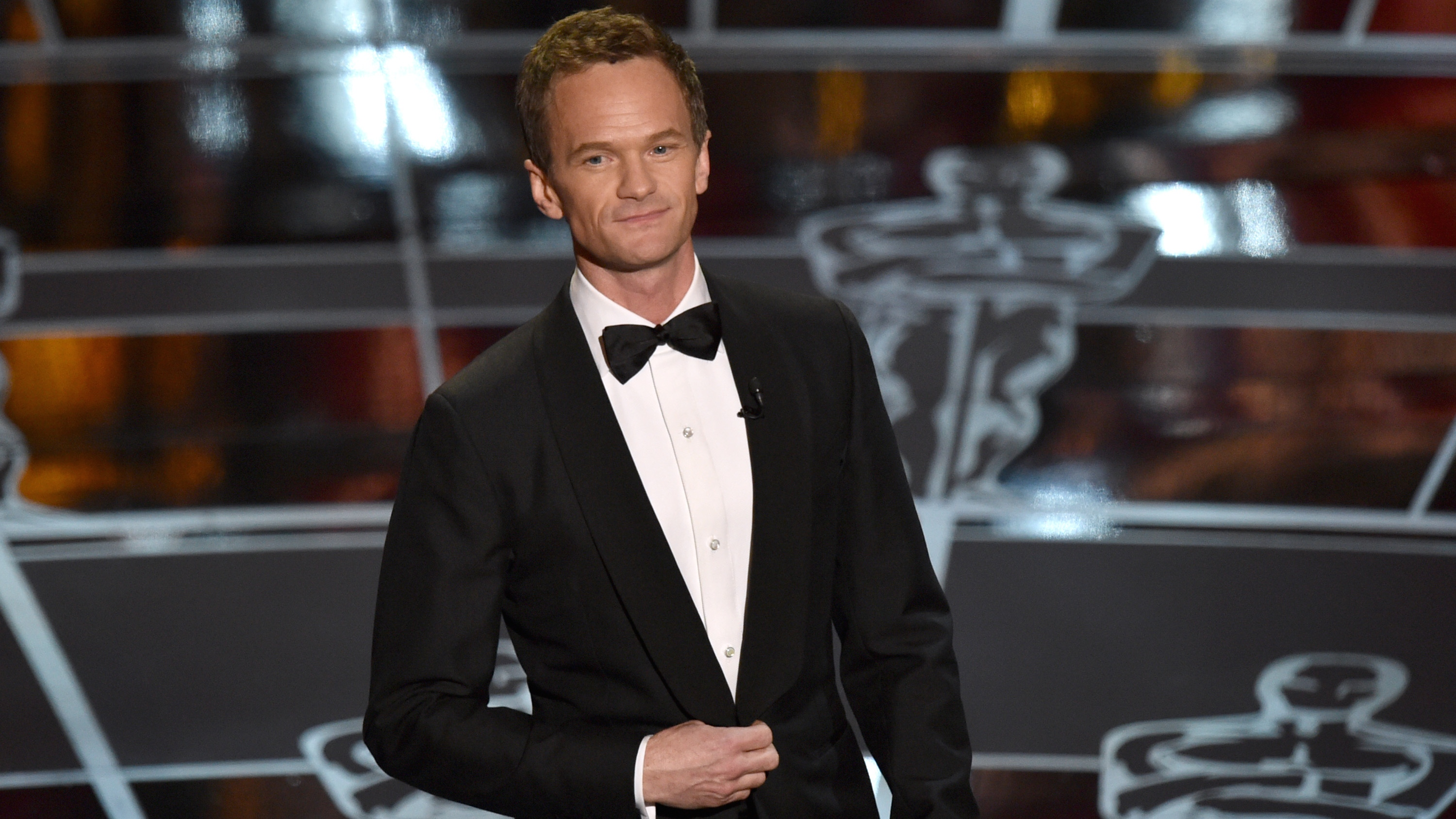 Neil Patrick Harris at the Oscars - H 2015