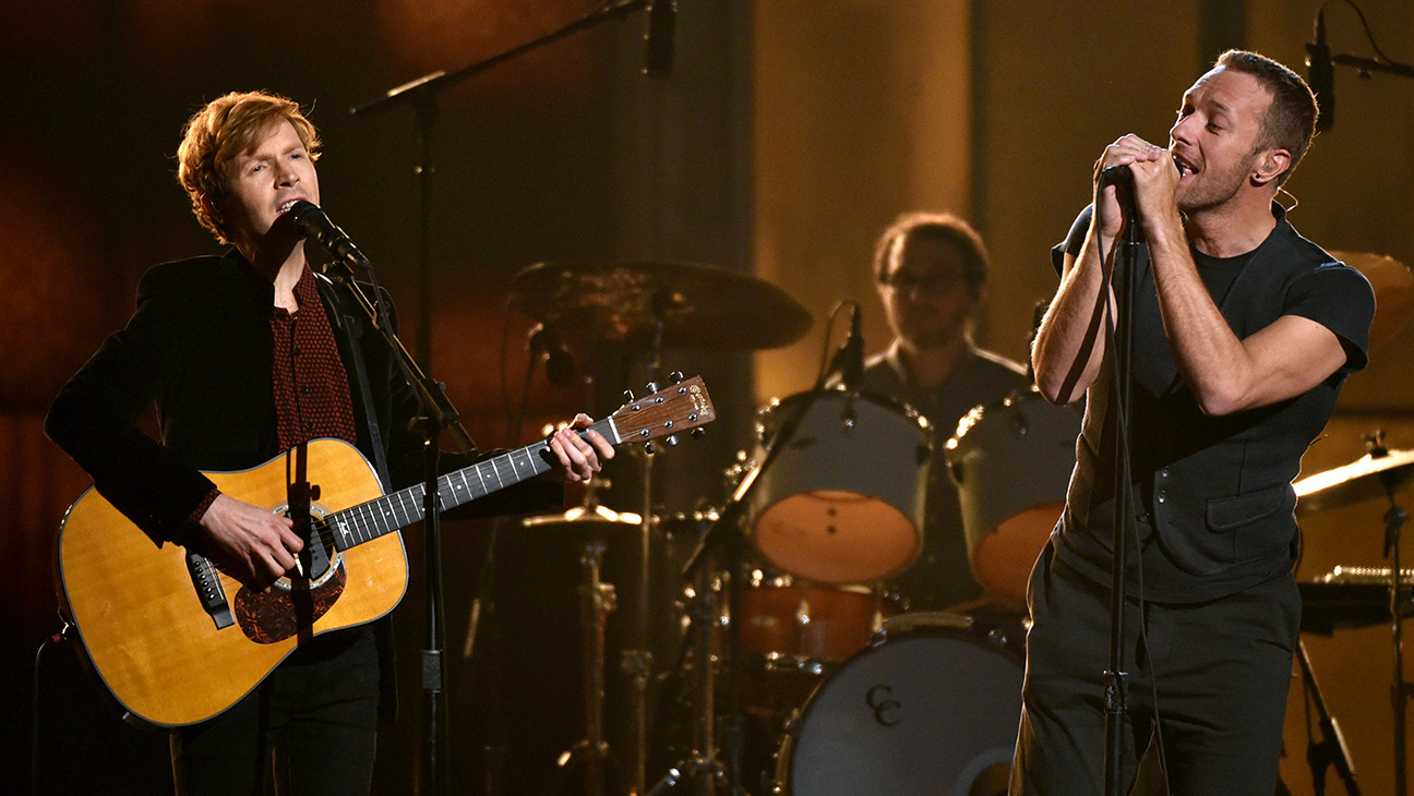 Beck and Chris Martin