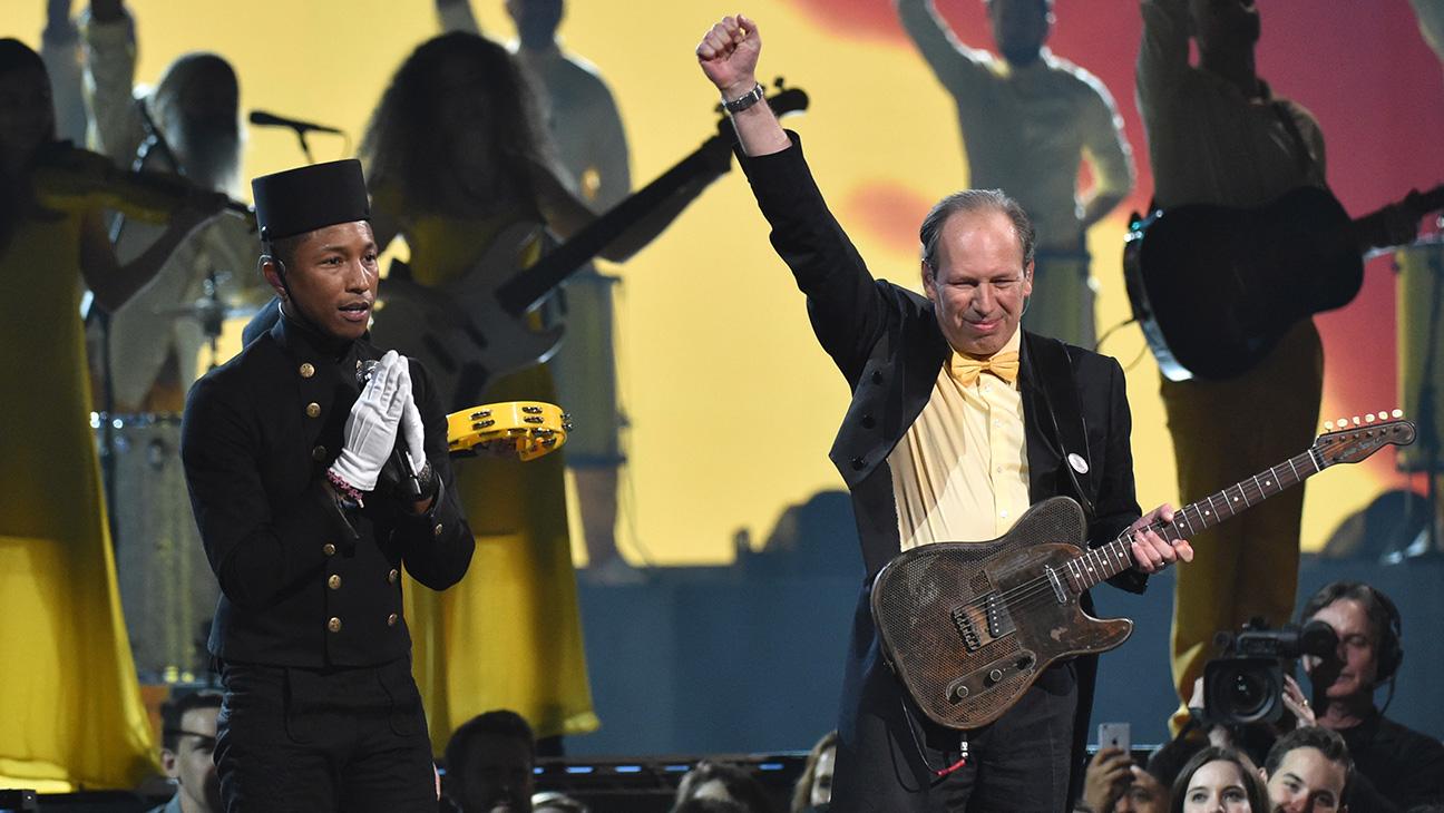 Pharrell Williams and Lang Lang